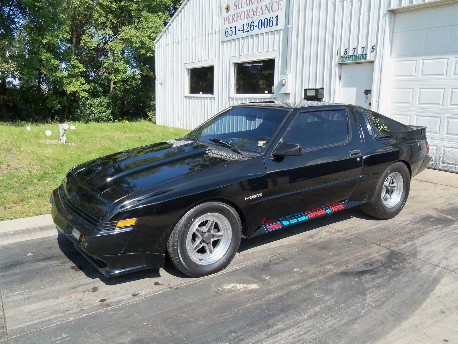 eBay Greatness: This Chrysler Conquest TSI Is Perfect With Boosted Late Model Hemi Power