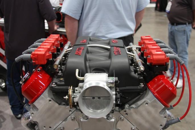 Gm Ls Engines >> BangShift.com MSD Atomic Air Force Intake Manifold