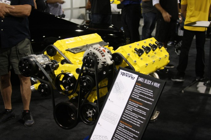Mercury Racing DOHC LS Engine001