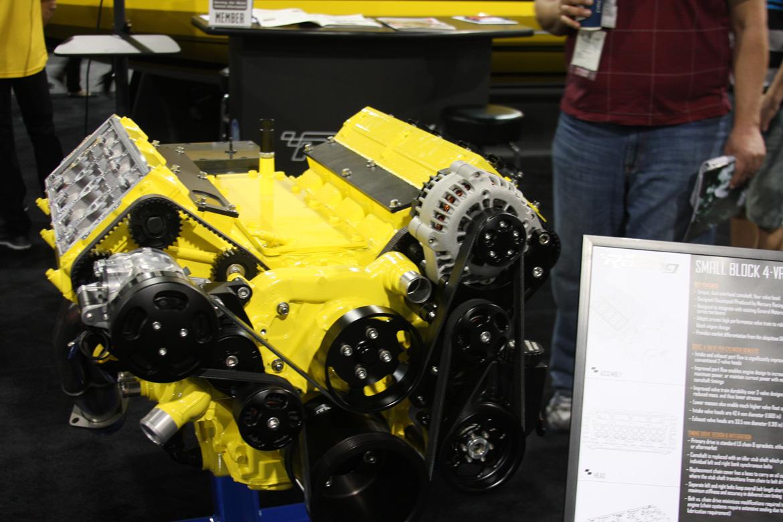 Mercury Racing Dohc Ls Engine on Engine Block Cylinder Head