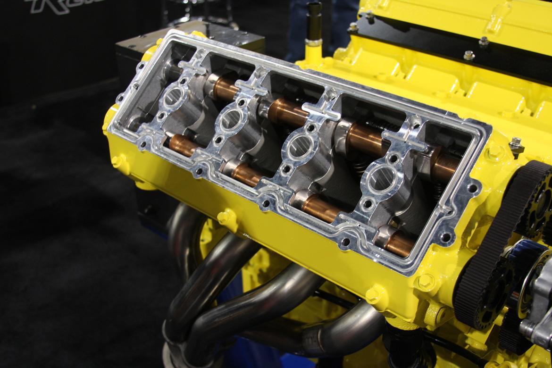 SEMA 2014: The Mercury Marine Dual Overhead Cam Four Valve LS Engine Was The Coolest Motor We Saw At SEMA