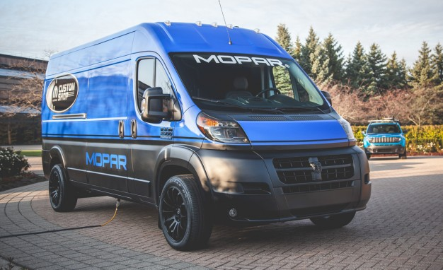 Fantastic Custom Ford Transit Heading To 2014 SEMA Show  Page 2