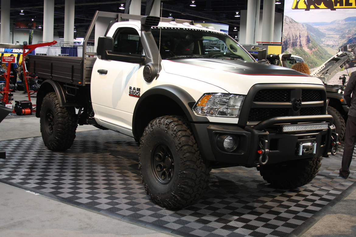 SEMA 2014: The Coolest Trucks On Display In The Truck Hall (Part 1)