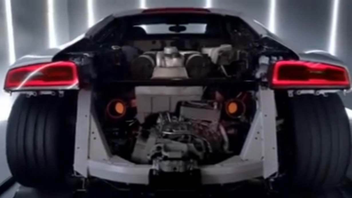 This Video Of An Audi R8 V10 Making A Dyno Pull Through All The Gears Has Sounds Like You Wouldn't Believe