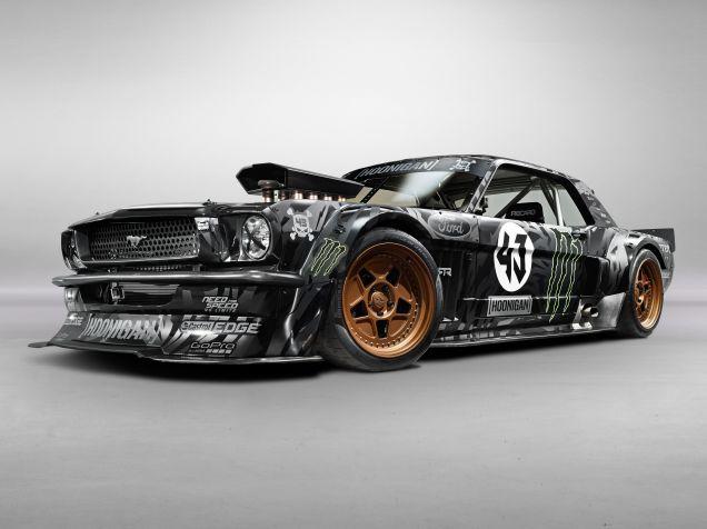 Automotive Insanity Defined: Ken Block's AWD, 845hp Mustang Gymkhana Car
