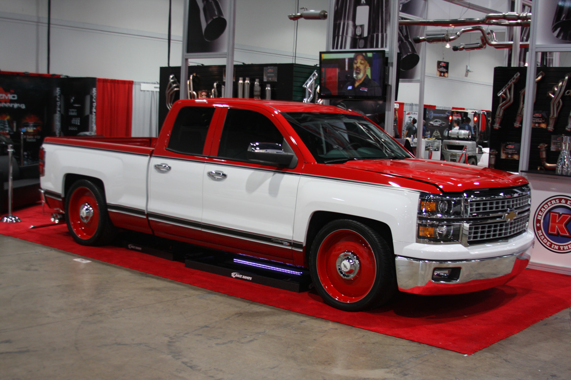 SEMA 2014: This Chuck Mallet Built Silverado Is Retro Done Right – Sometimes Just Enough Really Is Just Enough (There's Lots Of Horsepower, Though)