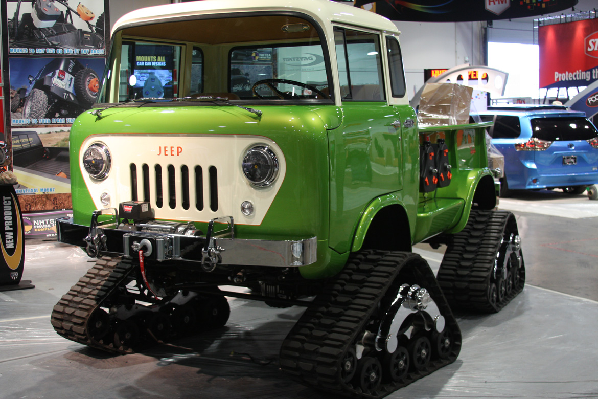 SEMA 2014: Daystar Products' Jeep FC 170 Truck With Hemi Power And Tracks Is 100% BangShift Approved