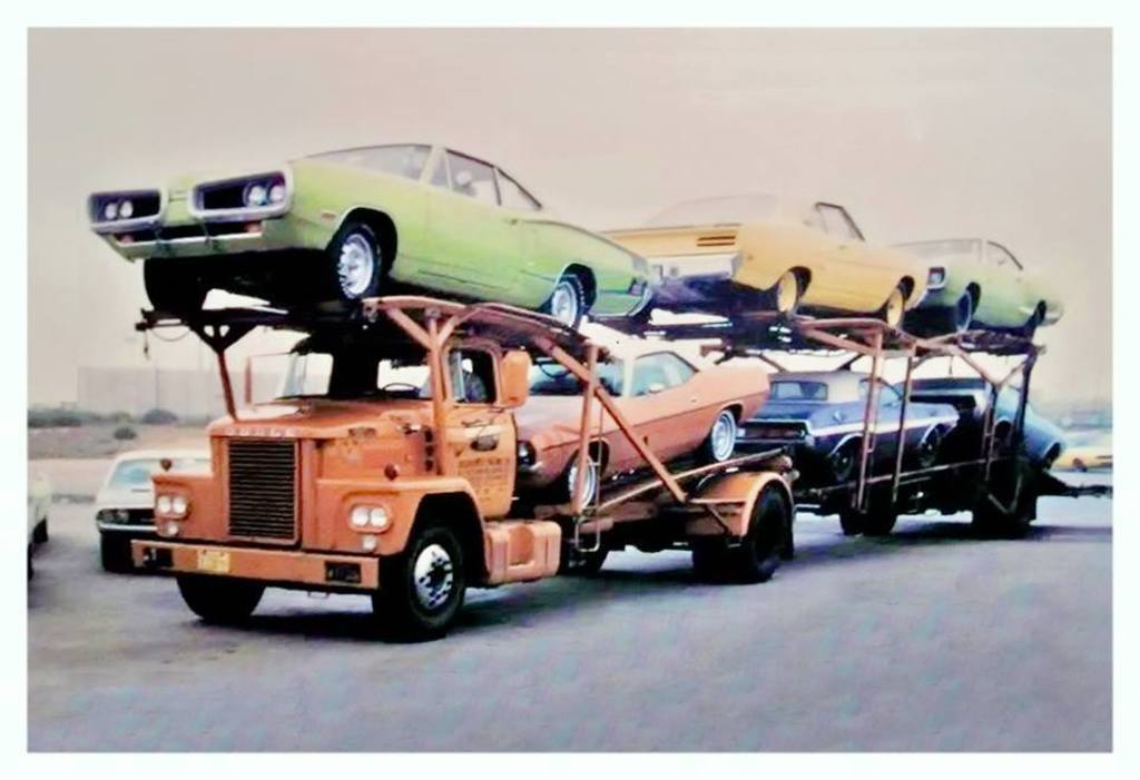 Vintage Gallery: Vehicle Delivery Day, Filled With Mopars!
