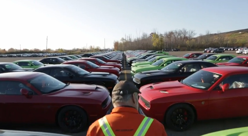The Hellcats Are Shipping! The Hellcats Are Shipping! Chrysler Made A Cool Video To Commemorate the Moment