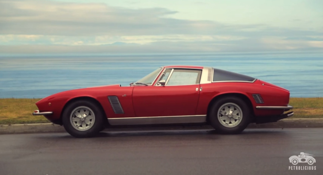 Italian Muscle: The Iso Grifo Is The Perfect Mix Of American Guts And Italian Looks (Video)
