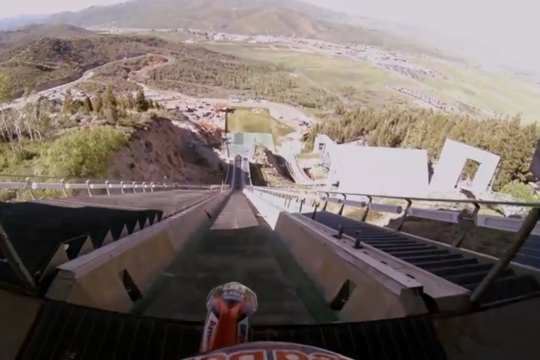 Robbie Maddison Recently Jumped A Motorcycle Off Of An Olympic Ski-Jump – The Video Of The Accomplishment Is Awesome