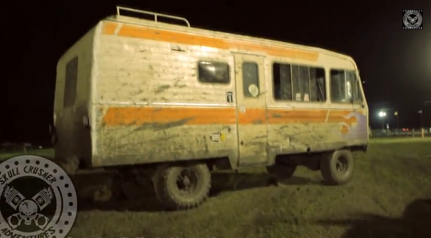 This Worked Up, 440 Powered, Mud Bogging Winnebago Could Be The Most BangShifty Thing Ever (Video)