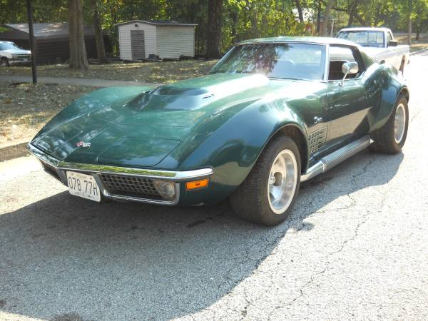BangShift com A 4400 Mile 1971 Big Block Corvette, For Sale