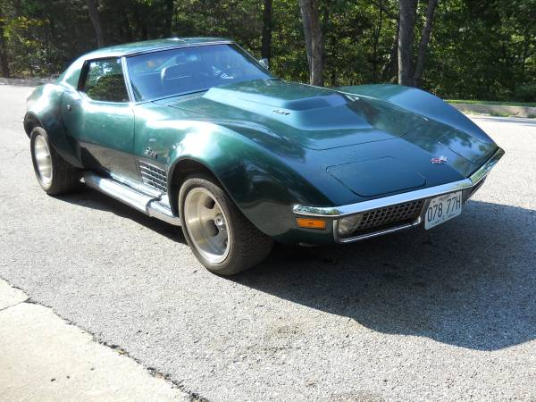 BangShift com A 4400 Mile 1971 Big Block Corvette, For Sale
