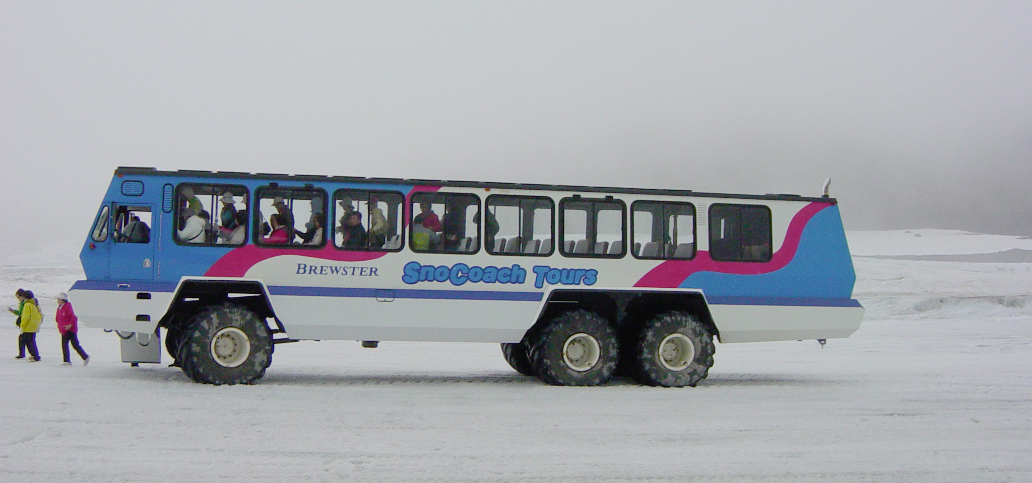 Artic Cat Used For Tours In Yellowstone