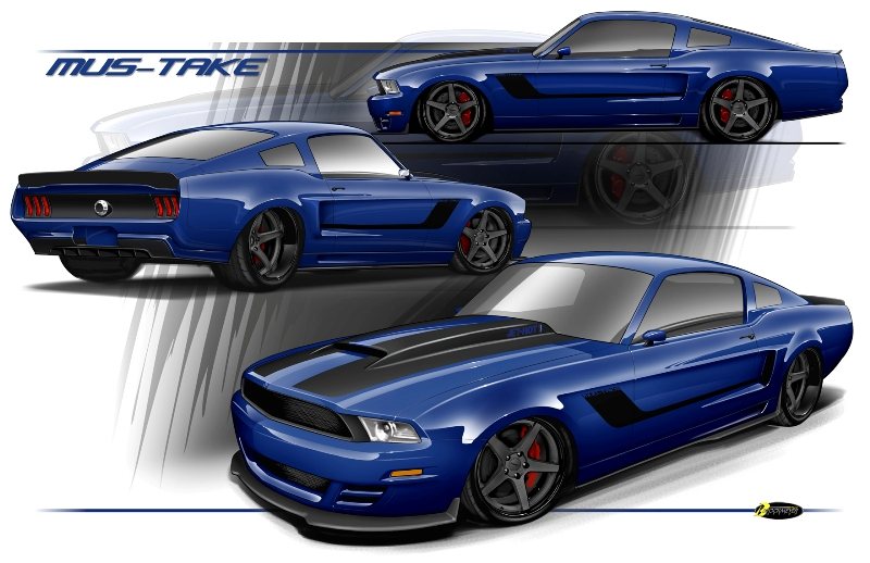 Good Or Bad? Brian Finch's Mus-Take Mustang Project Is Underway