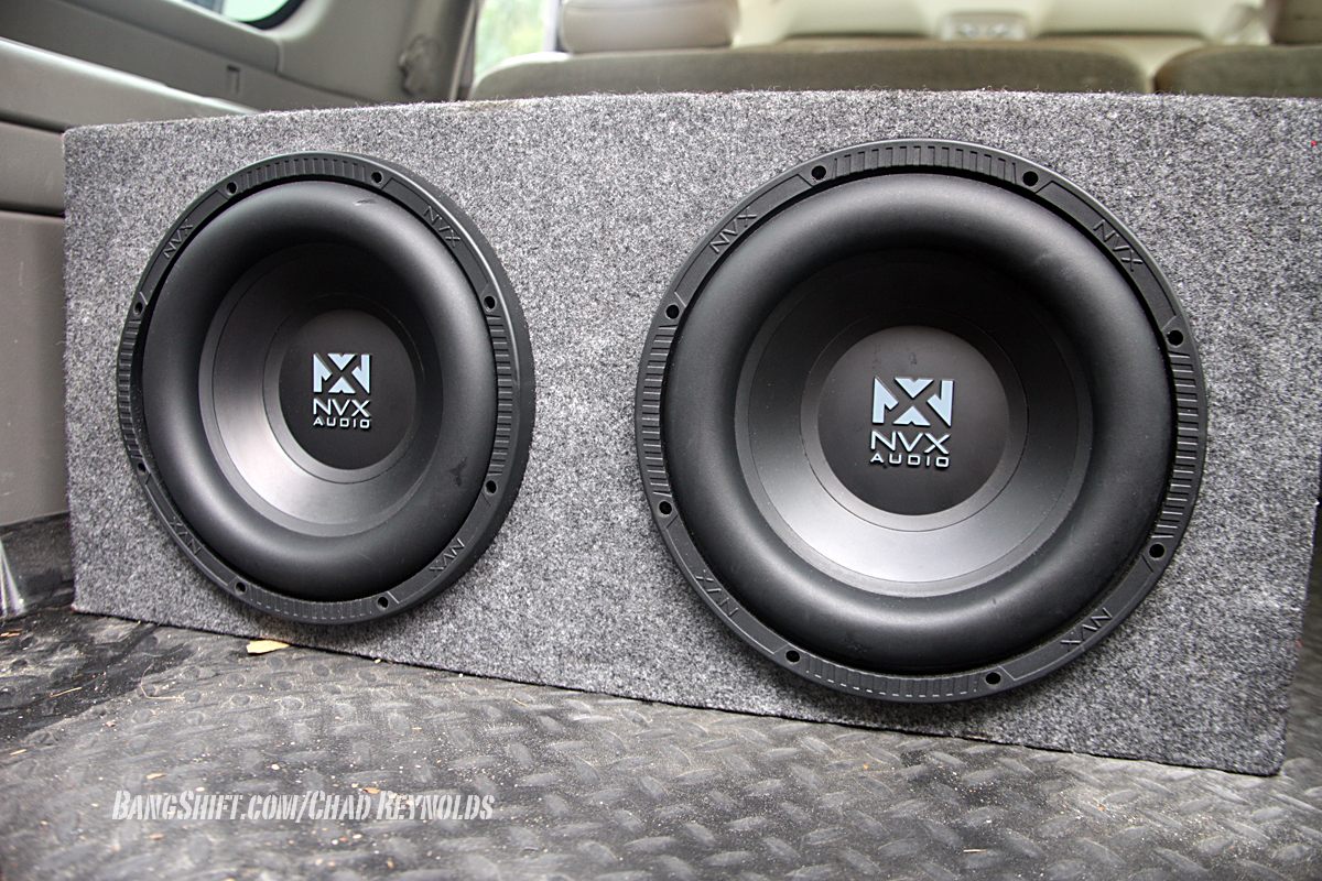 We Test The NVX JAD900.5 Amp And NSW102 Subwoofers: Serious Bang For Your Buck!