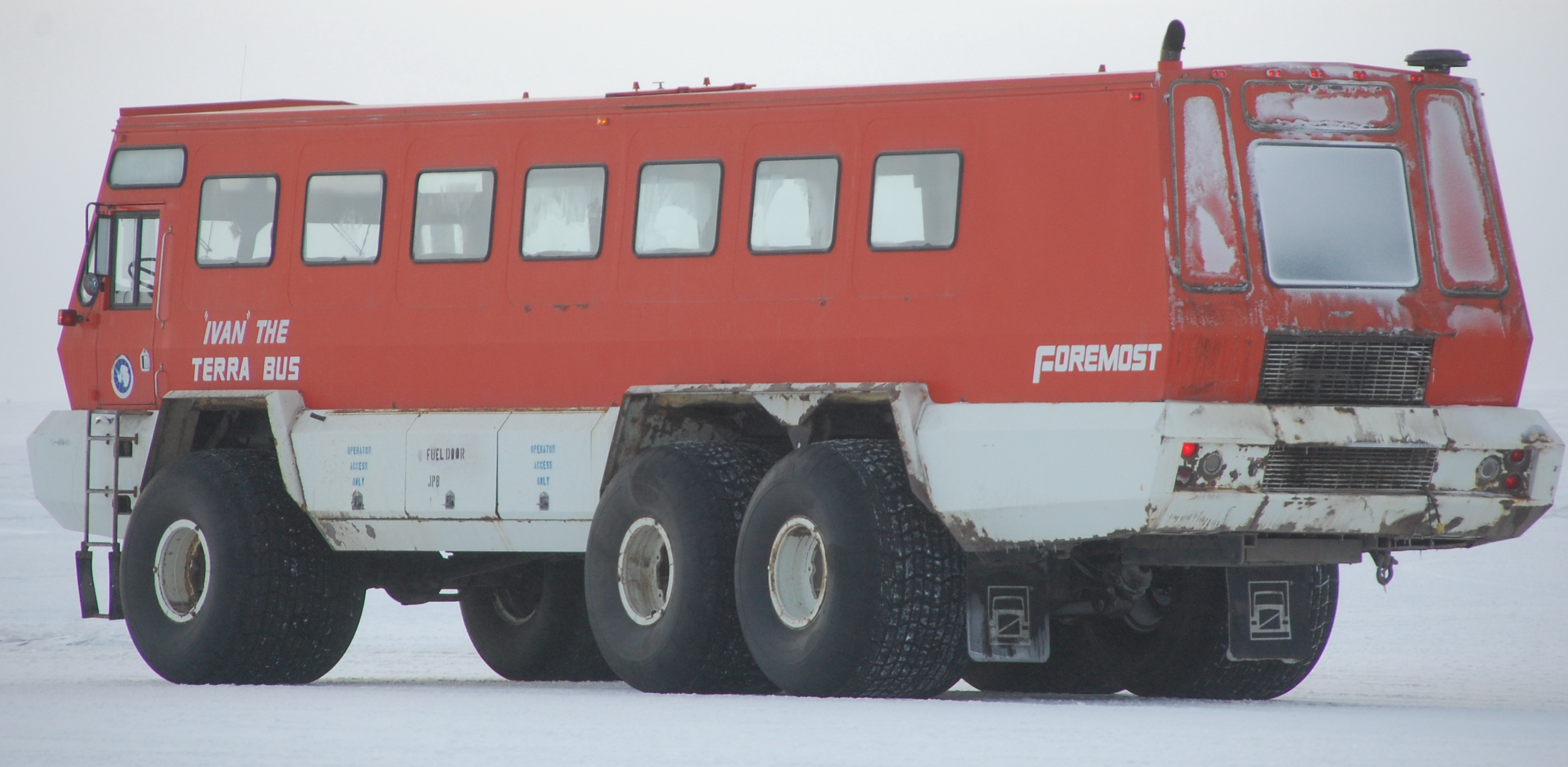 BangShift-Approved Tour Bus: The Foremost Terra Bus…Nothing Will Stop This Monster!