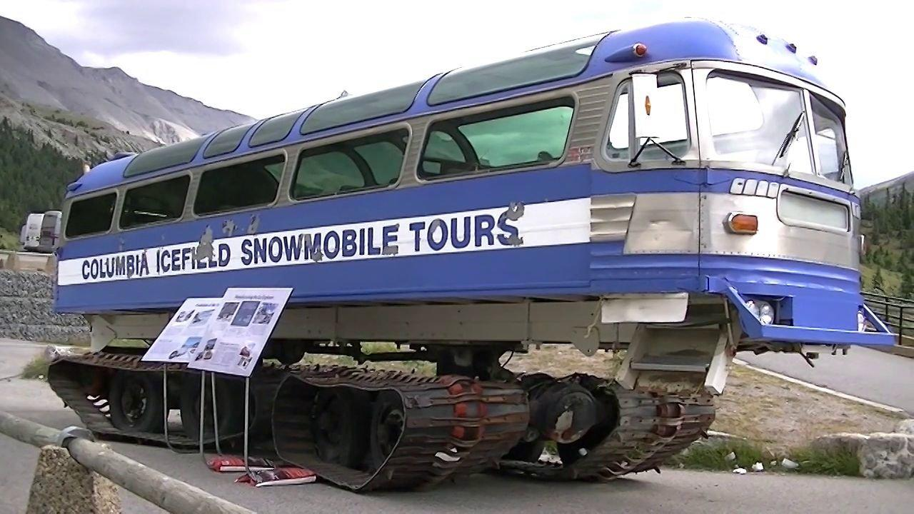 Tour Bus For Sale >> BangShift.com Tracked Monster Buses