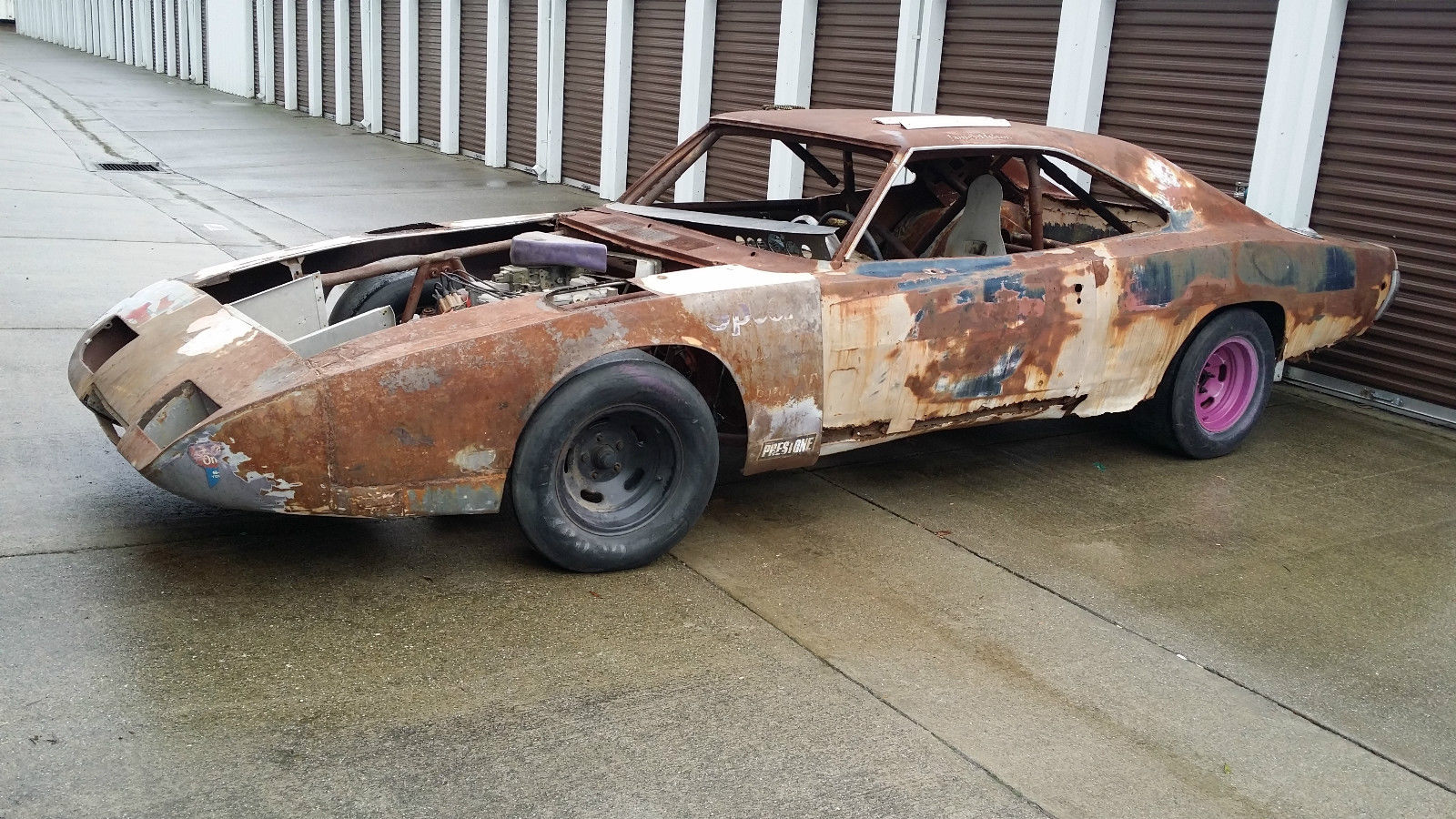 Actual NASCAR Dodge Charger Daytona For Sale On Ebay: One Of Less Than 10 Known To Exist, Raced By James Hylton, Only One To Suffer Fatal Wreck