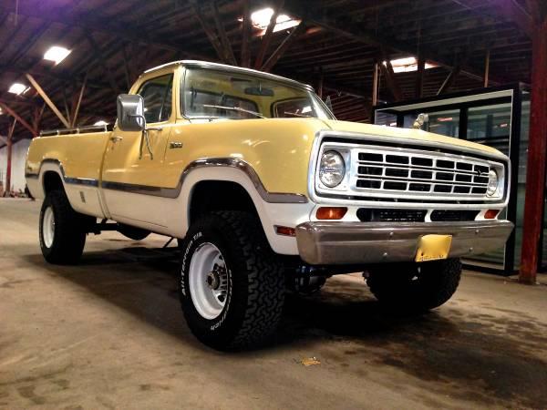 Dodge D100 For Sale Craigslist - Ultimate Dodge