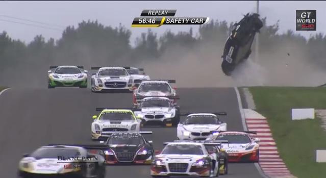 Watch Tomáš Enge's Lamborghini Gallardo Go End-Over-End At Slovakia Ring