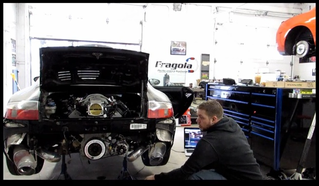 Listen To This 408ci LSx Powered Porsche Carrera 4 Fire Off For The First Time – We Need One Of These!