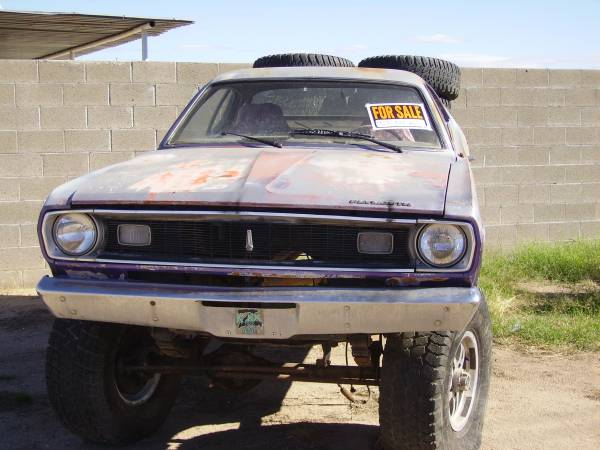 Rough Start: This 1970 Plymouth Duster Trar Is Rough, Alright, But It's Set Up For A Big-Block – What Do You Think?