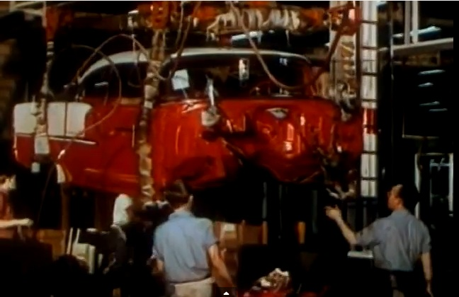 This Video Showing How 1955 Chevrolet's Are Made From Raw Resources To Finished Products Is Awesome