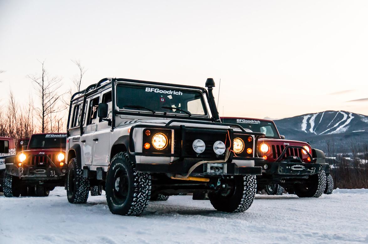 Tire Thrash: We Test The New BFGoodrich All-Terrain T/A KO2 Through Snow And Ice In Sub-Zero Temps!