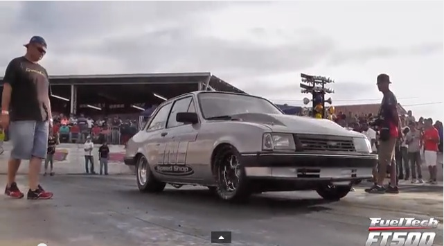 This Brazillian Chevette Will Stomp It's Way To A 9-second Quarter Mile!