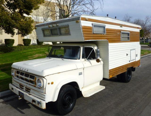 This 1969 Dodge D300 Open Road Camper Is So Cool We're Nearly Speechless!