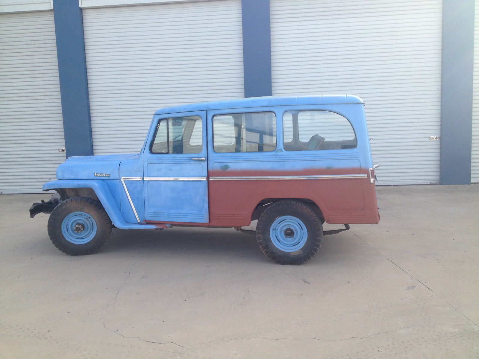 1962 Willys Station Wagon 1941 Jeep This Is Cool Needs Work And In Stock Form Would