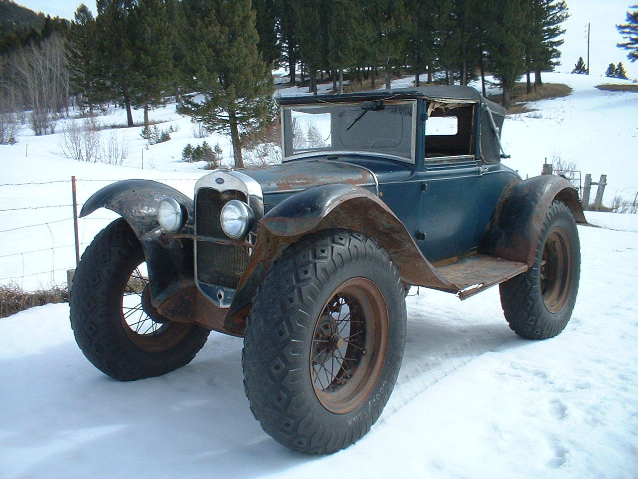 BangShift.com 1930 Ford Model A Rural Mail Car