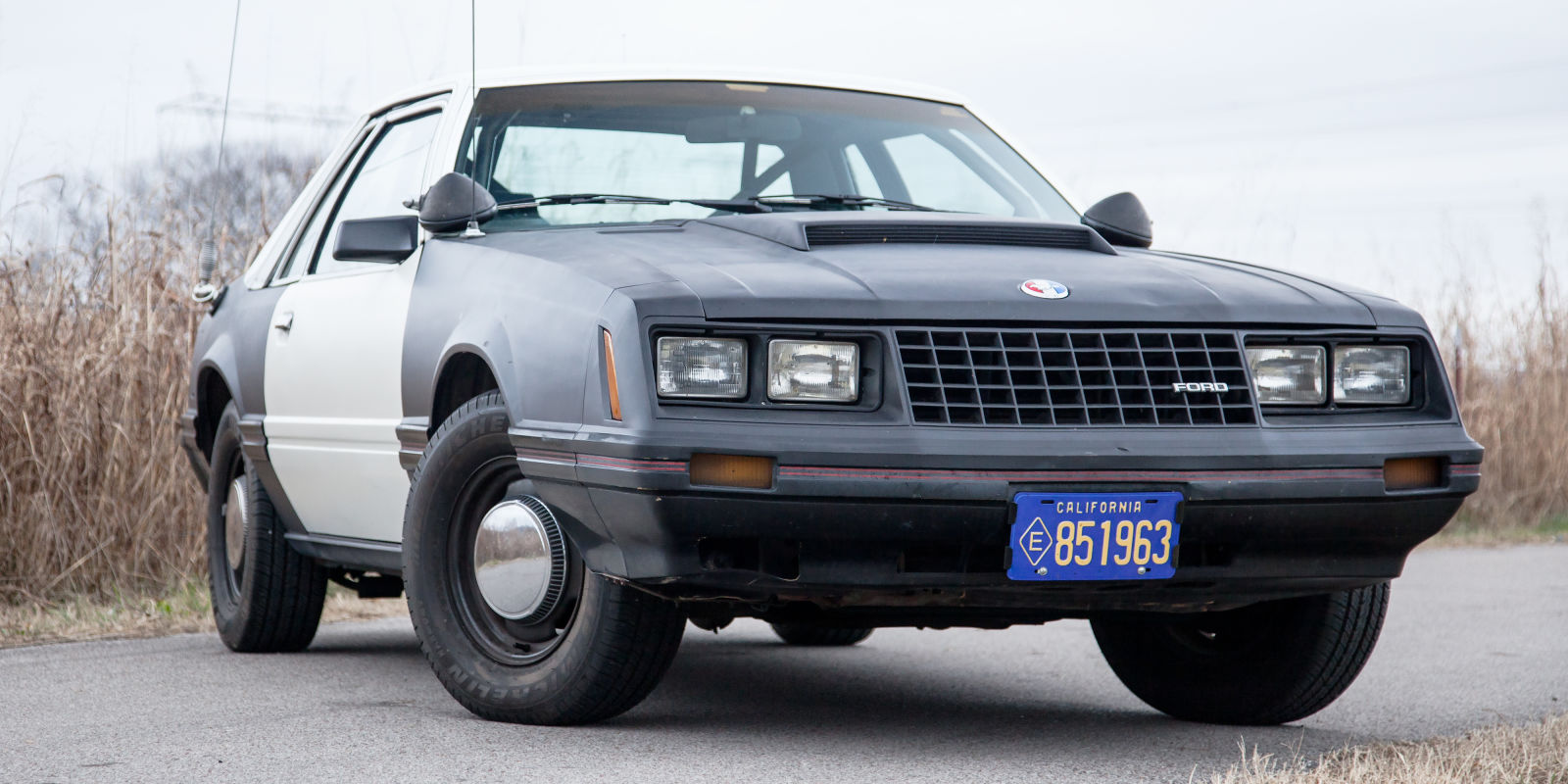The Guys At Road And Track Drove The Very First Mustang Special Service Patrol Car Ever And We're Jealous