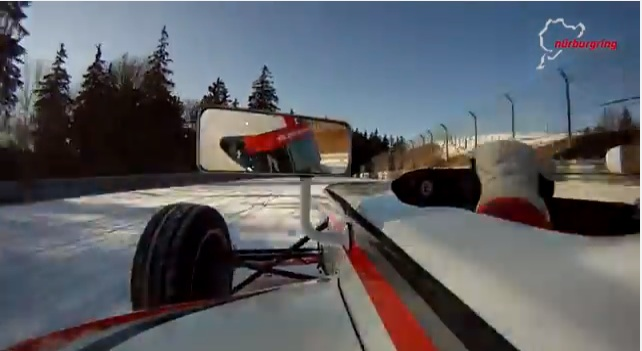 A Fast Lap Of The Nurburgring Nordschliefe…In The Snow, Because The Track Itself Just Wasn't Dangerous Enough