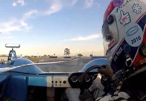 100% BangShift Approved Video: Watch Jim Pace Haul Ass Around Sebring In A Lola T70 Can Am Car – Ford V8 Power!