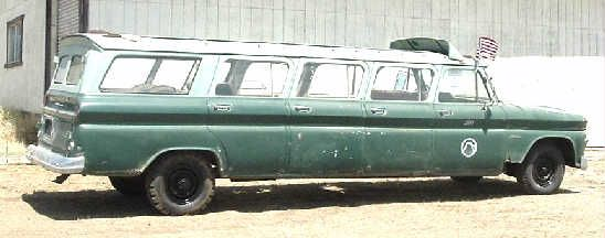 This 1964 Chevy Stageway Suburban Has Seven Doors Yellowstone History And Less Than 10000 & BangShift.com 1964 Chevy Stageway Suburban
