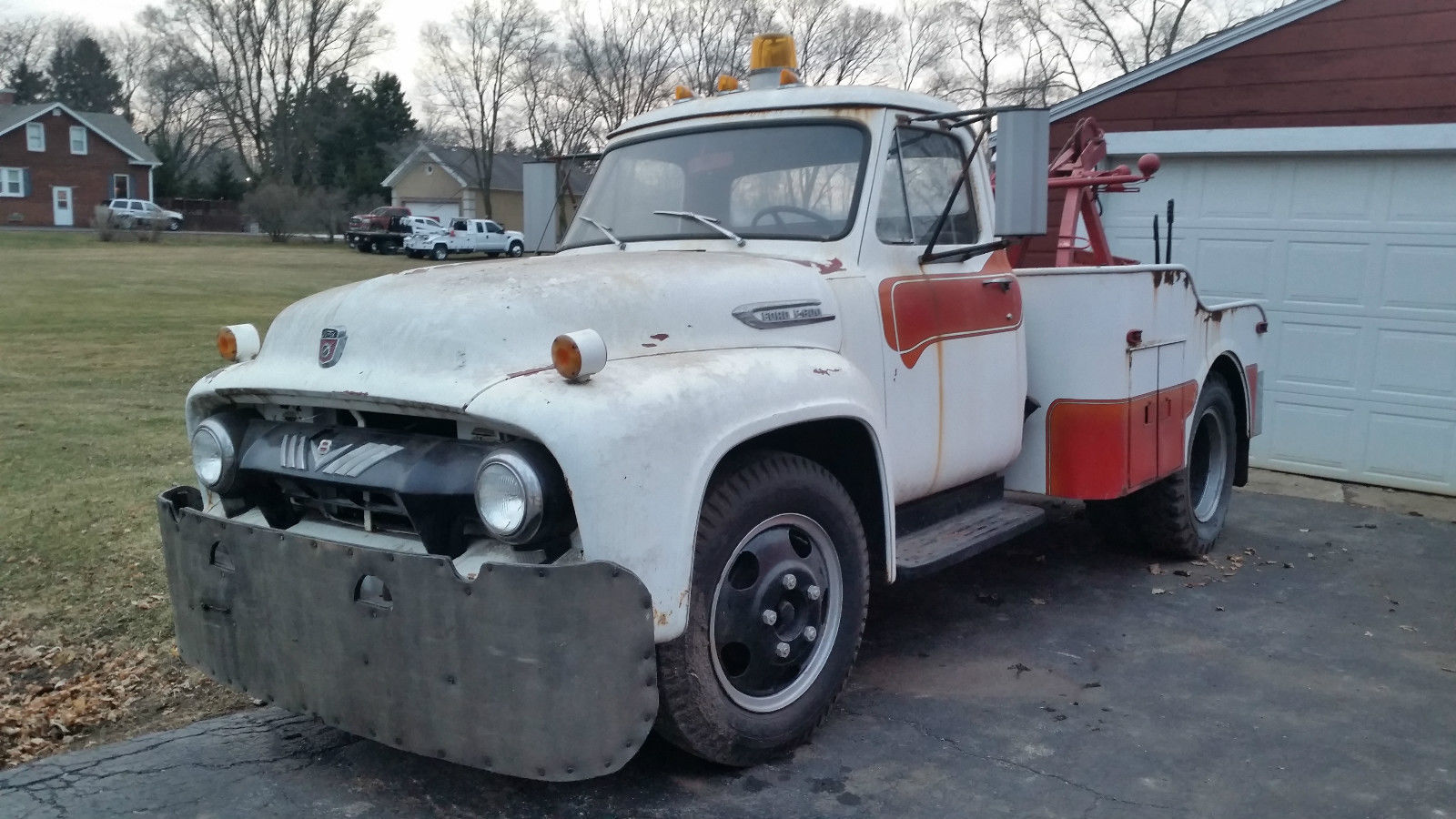 1954 Ford F600 Wrecker Coe Truck Blog War This Has Lived In A Body Shop For Three