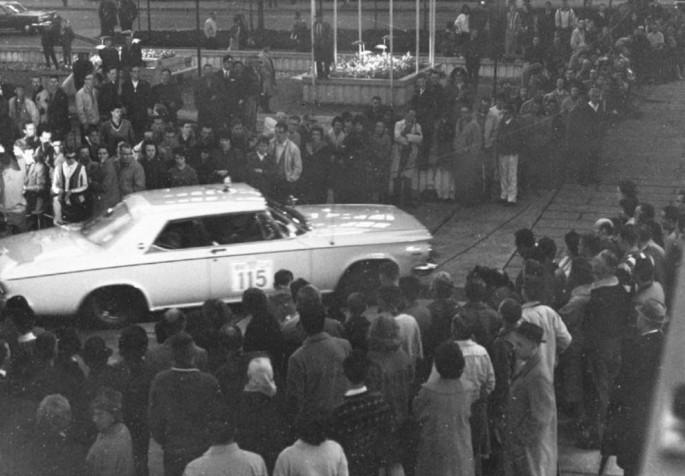 63 Chrysler 300 rally car 115