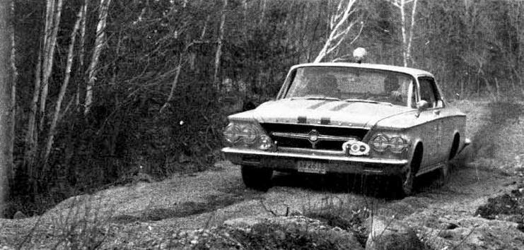 They Drove What? The History Behind The Two 1963 Chrysler 300s That Went Rallying In Canada