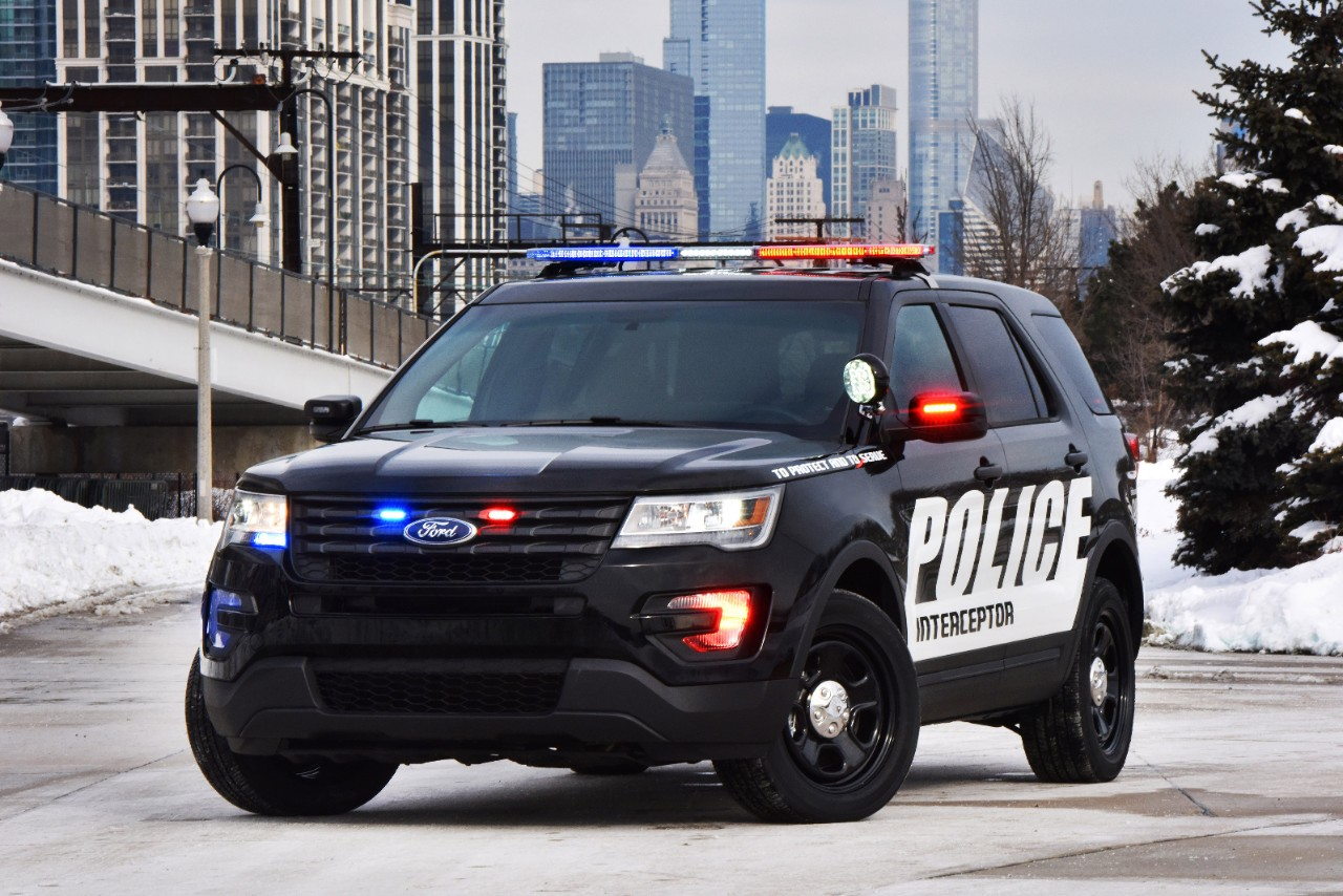Ford Unveils 2016 Ford Police Interceptor Utility – Turbo V6 Tank On Wheels