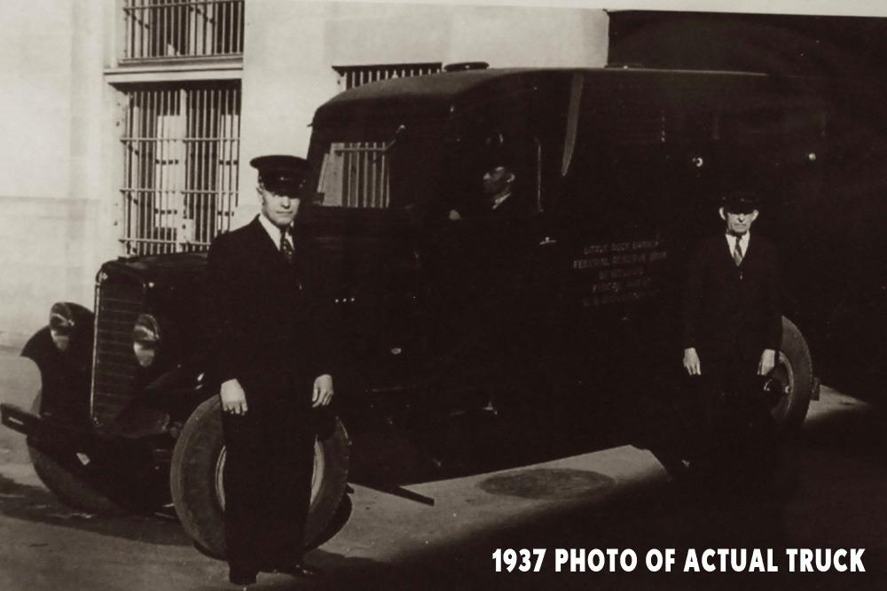 Bangshift Com 1935 International Harvester C35 Armored Truck