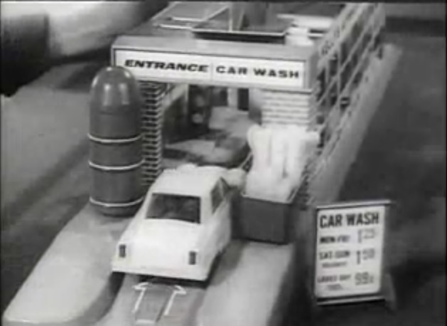 this 1960s ad for the remco mr kellys automatic car wash is a look back at