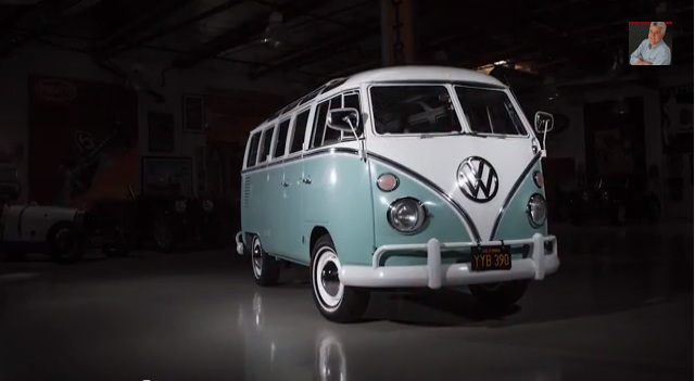 Fluffy Ride! Jay Leno Takes Gabriel Iglesias' 1966 VW Samba Out For A Cruise And A Snack!