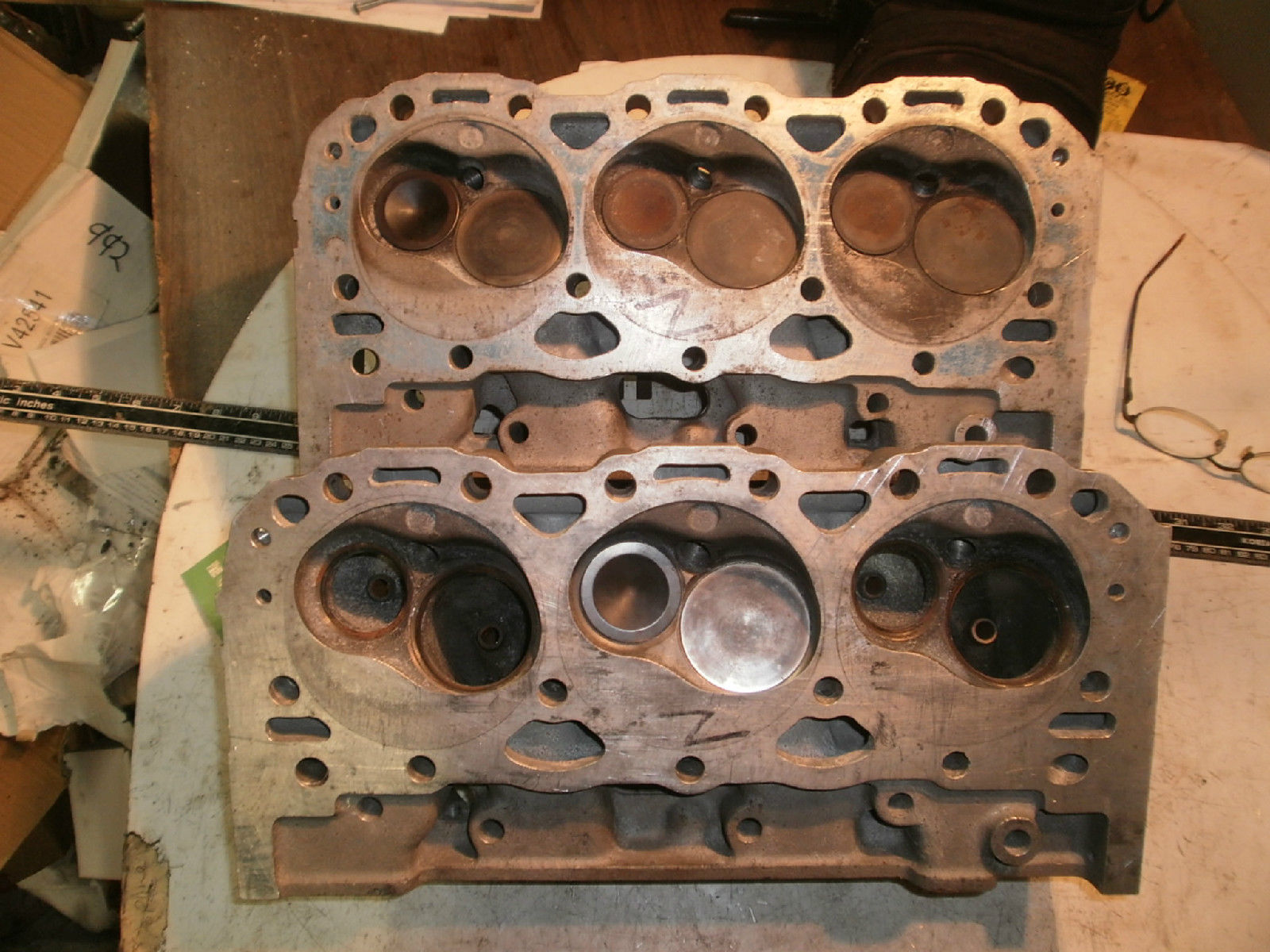 These Canted Valve 4.3L Chevy V6 Heads Were Designed For Big RPM And Big Power