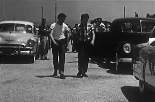 """Historical Footage: A Teenager Learns How To Get His Act Together In """"The Cool Hot Rod"""" From 1953"""
