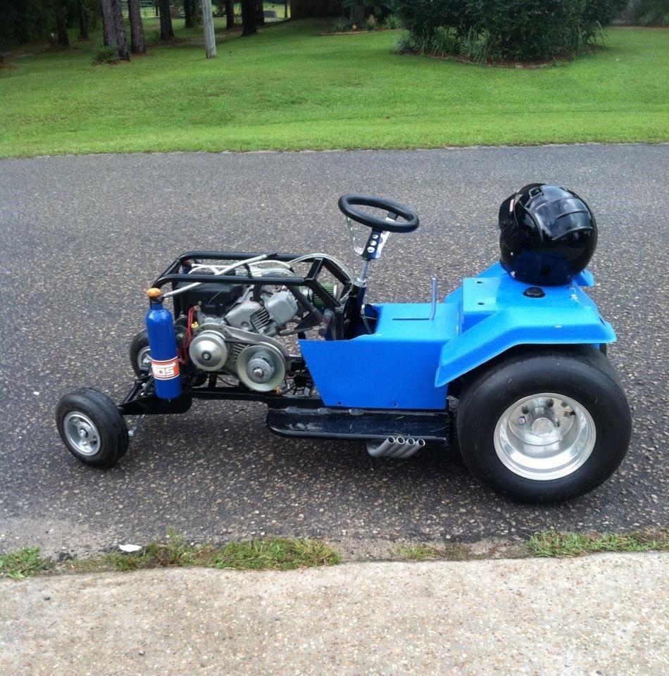 BangShift com Pro Street Lawn Mower