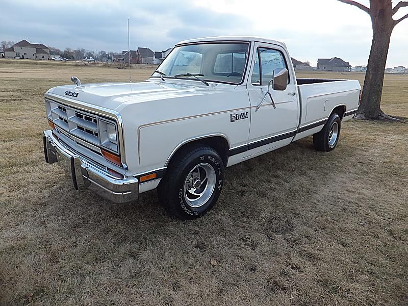 Half Ton Truck >> BangShift.com 1986 Dodge D-150 Ram