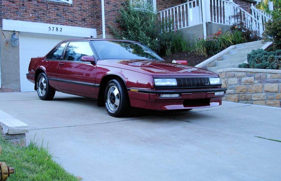 T Type on 1986 Buick Lesabre T Type